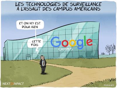 Les technologies de surveillance à l'assaut des campus américains