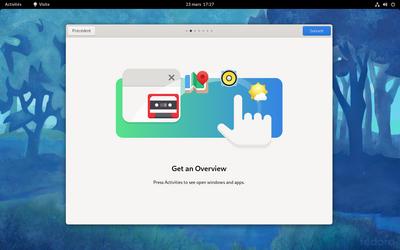 Fedora 34 assistant GNOME 40