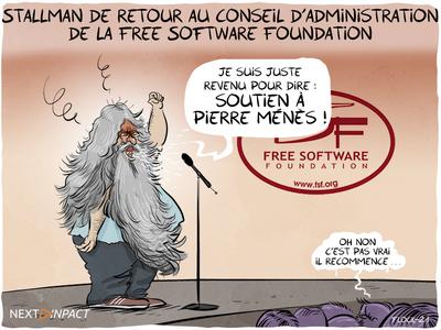 Richard Stallman de retour au conseil d'administration de la Free Software Foundation