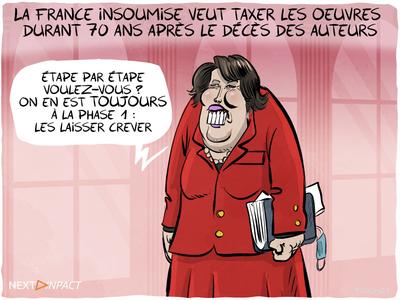 La France insoumise veut taxer les œuvres durant 70 ans après le décès des auteurs