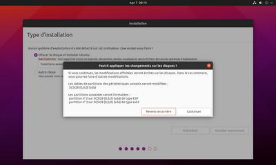Ubuntu Hirsute installation