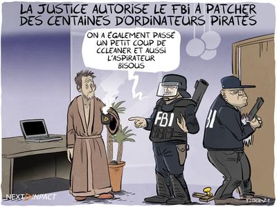 La Justice autorise le FBI à patcher des centaines d'ordinateurs piratés