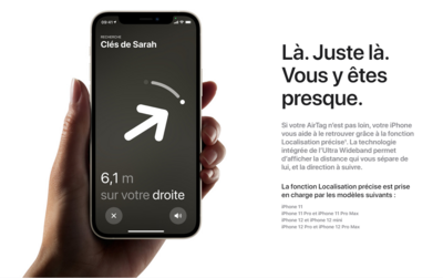 Apple AirTag Localiser