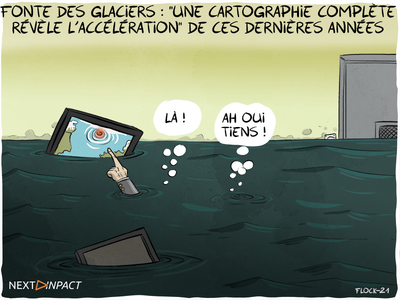 Fonte des glaciers : « une cartographie complète révèle l'accélération » de ces dernières années