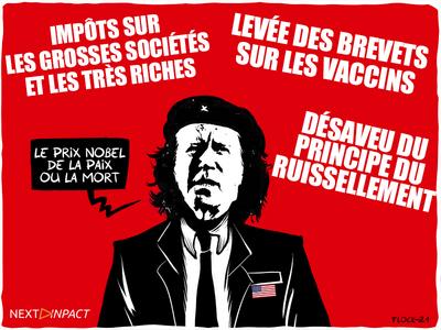 Covid-19 : Les États-Unis pour une levée des brevets sur les vaccins