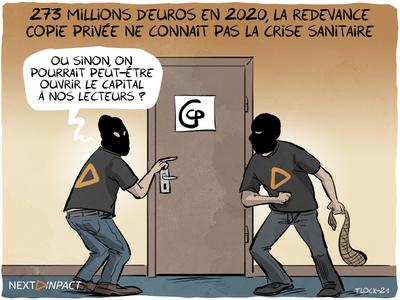 273 millions d'euros collectés en 2020, la redevance Copie privée ne connaît pas la crise sanitaire