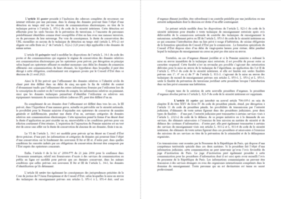 lettre rectificative renseignement terrorisme
