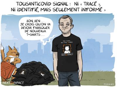 Le pass sanitaire et TousAntiCovid Signal se préparent