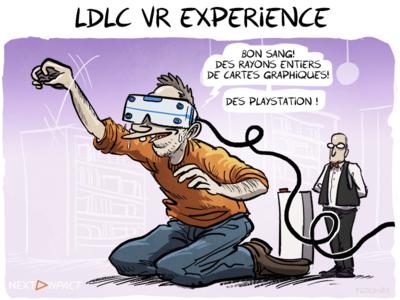 LDLC VR Expérience : une salle de jeux de 300 m² pour la réalité virtuelle