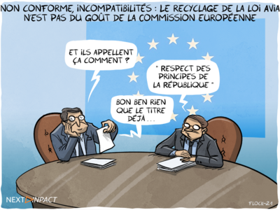 Le recyclage de la loi Avia n'est pas du goût de la Commission européenne