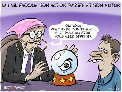 La CNIL évoque son action passée et son futur