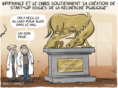 Bpifrance et le CNRS soutiennent « la création de start-up issues de la recherche publique »