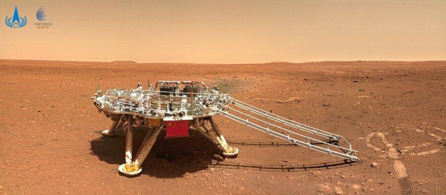 plateforme mars rover chinois