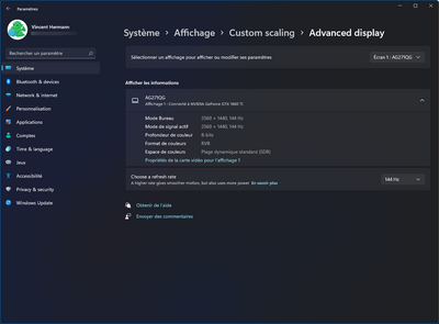 Windows 11 Paramètres