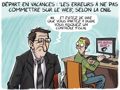 Départ en vacances : « les erreurs à ne pas commettre sur le web », selon la CNIL