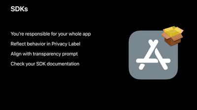 Apple Vie privée WWDC 2021