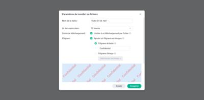 Synology C2 Password Transfert Fichier