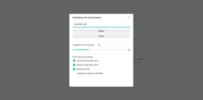 Synology C2 Password Générateur de mot de passe