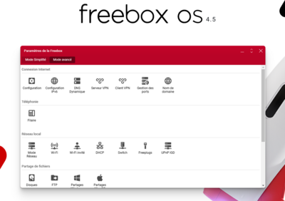 Freebox OS 4.5 Beta