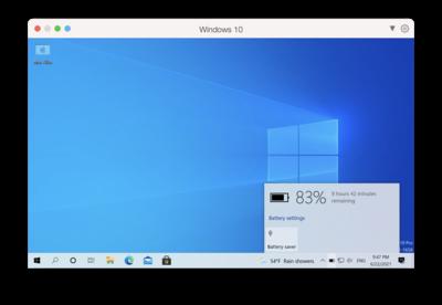 Parallels Desktop 17 pour Mac