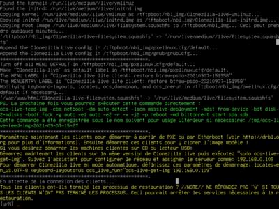 Clonezilla Client Server BitTorrent