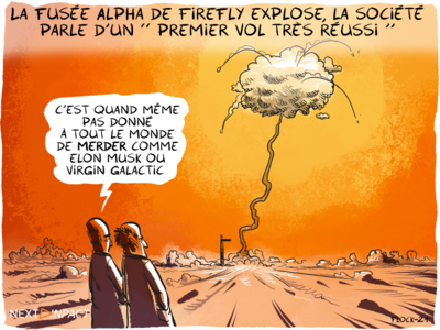 La fusée Alpha de Firefly explose, la société parle d'un « premier vol très réussi »