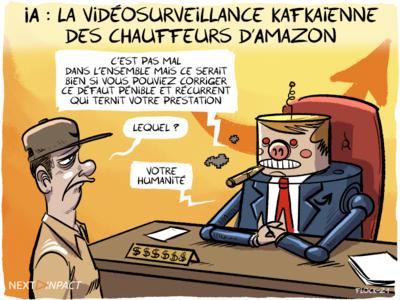 IA : la vidéosurveillance kafkaïenne des chauffeurs d'Amazon