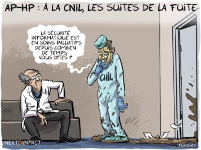 AP-HP : à la CNIL, les suites de la fuite