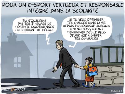 Un député veut « un développement sain et responsable » de la pratique de l'e‑sport en France