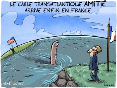 Le câble transatlantique AMITIÉ « atterrit » enfin en France