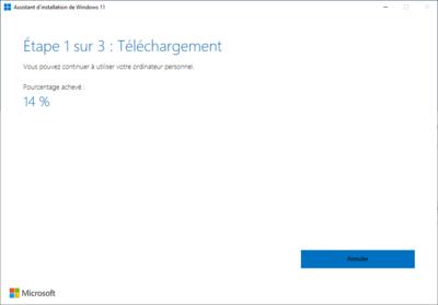 Windows 11 Mise à jour