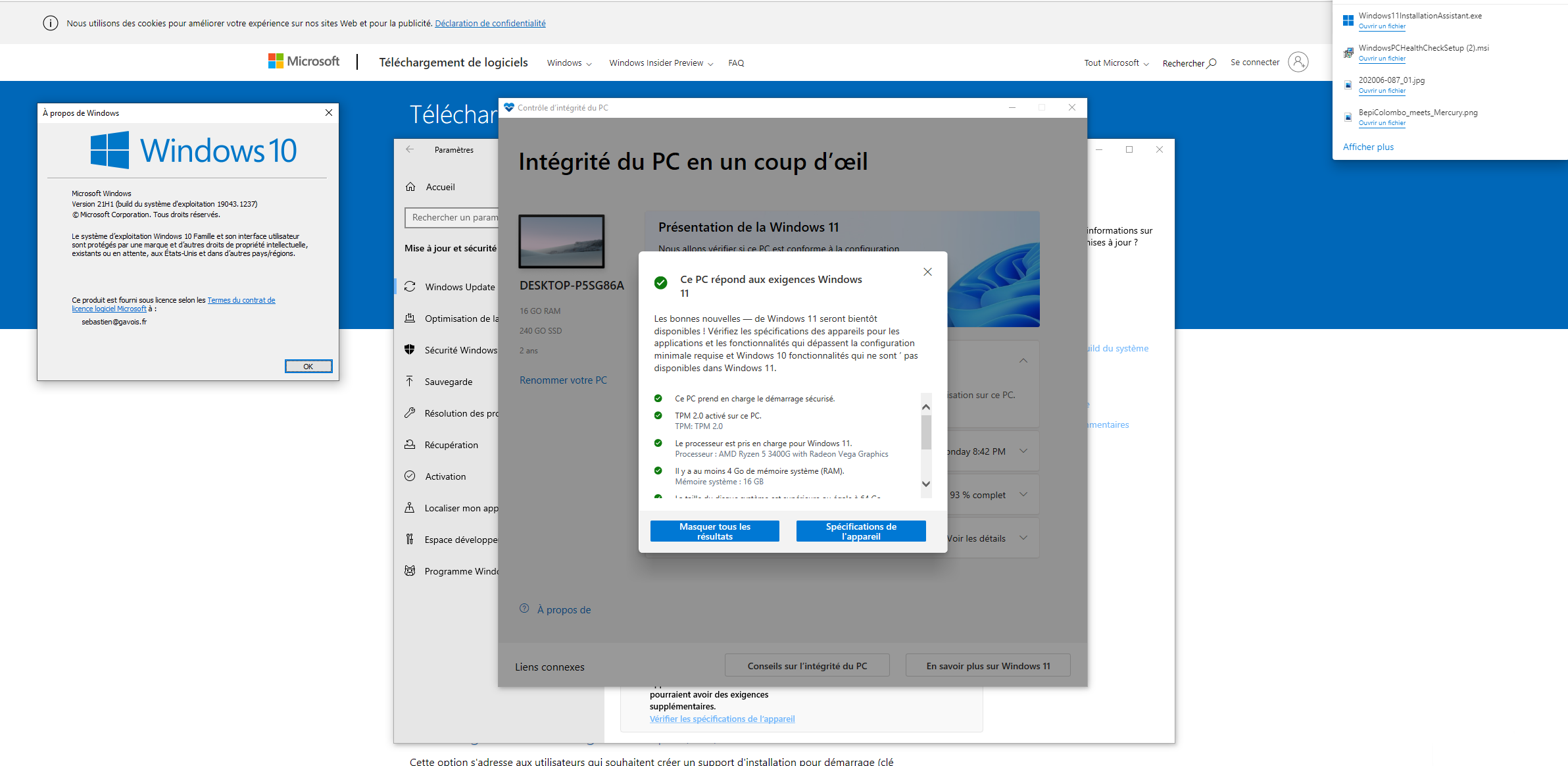 Windows 11 Compatibilité
