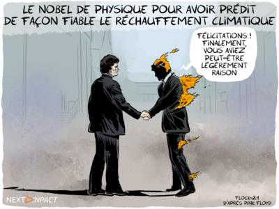 Nobel de physique : climat, réchauffement climatique et systèmes complexes