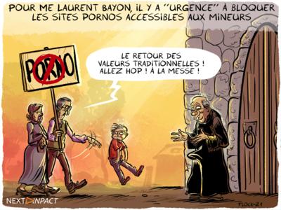Pour Me Laurent Bayon, il y a « urgence » à bloquer les sites pornos accessibles aux mineurs